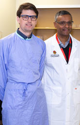 Dr. Dylan Pillai and Dr. Byron Berenger
