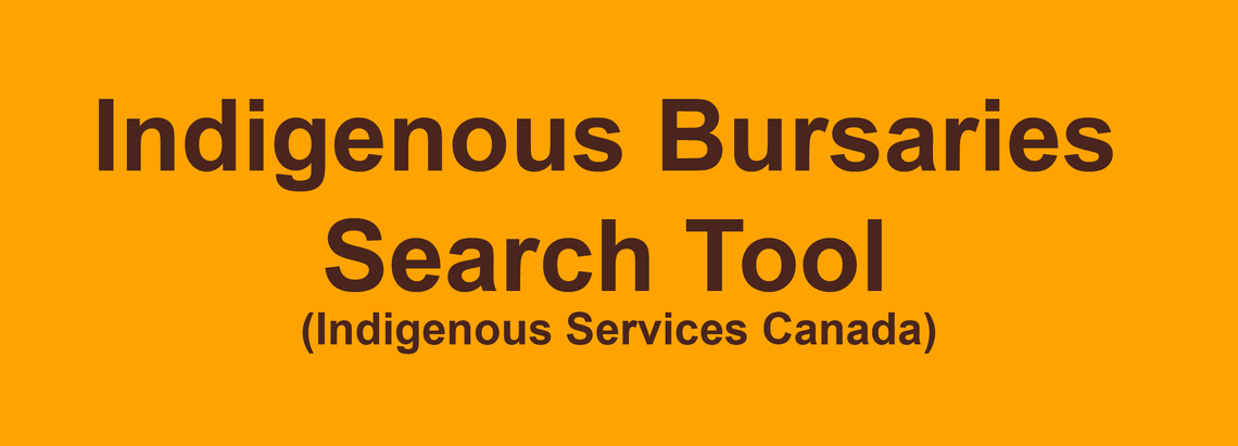 Indigenous Bursaries Search Tool – Indigenous Services Canada