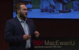 Brandon Craig, CPSP PhD/MD Candidate gives invited TEDx talk at MacEwan University