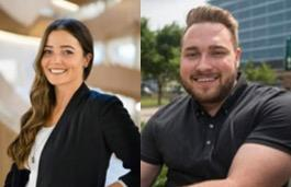 Two prestigious Vanier Scholarships awarded to CPSP graduate students, Adrianna Giuffre and Brandon Craig