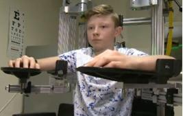 Robotic device helps young stroke victims