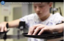 Robotic device aids research for children with brain injuries