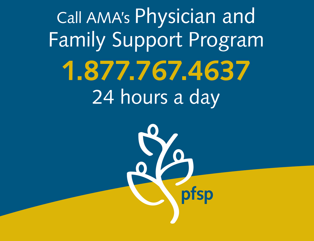 AMA's Physician and Family Support Program