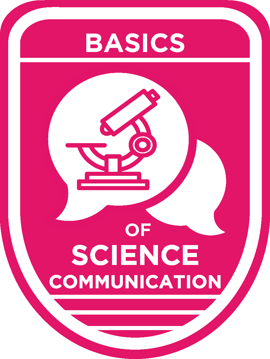 Basics of Scicomm Badge