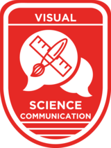 Visual Science Communication Badge